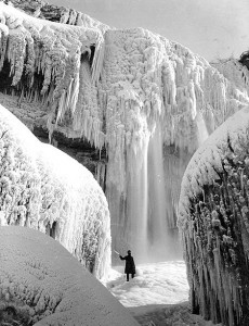 Niagara in ice